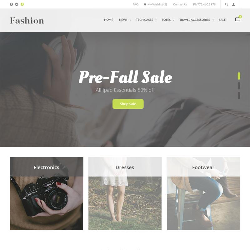 UltraCart StoreFront Theme - Fashion