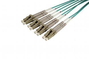LC x 8, Fiber Optic Cables