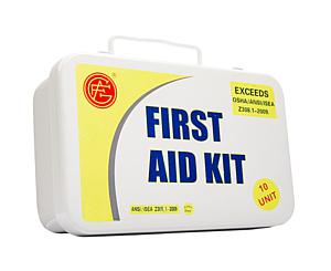 10 Person ANSI/OSHA First Aid Kit, Metal Case < Genuine First Aid #9999-2101