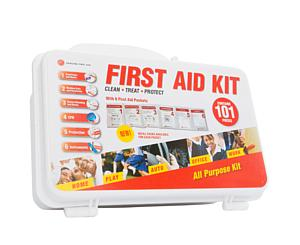 10 Person NON ANSI, Hard Case < Genuine First Aid #9999-2306