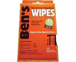 Ben's? 30 Wipes 12/box < Ben's #0006-7085