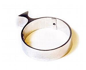 519 Wall Mounted Cylinder Bracket - Single < Ferno #0815190