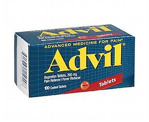 Advil Tablets 200 mg , Bottle of 100 < Wyeth