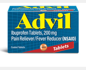 ADVIL TABLETS 200 MG 50 2 S < #0800091