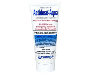 Actidose-Aqua Activated Charcoal Suspension, 15g < Paddock Laboratories