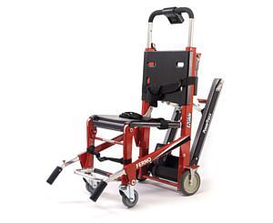 EZ Glide Stairchair w/ PowerTraxx, Red