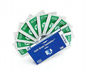 """Certi-Green Surface Cleaner Towelettes - 5"""" x 8"""" < Certified Safety #R213-022"""