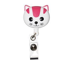 Deluxe Retracteze ID Holder, Cat, Print < Prestige Medical #S14-CAT