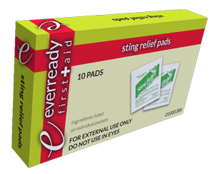 Sting Relief Pads