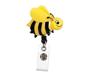 Deluxe Retracteze ID Holder, Bee, Print < Prestige Medical #S14-BEE