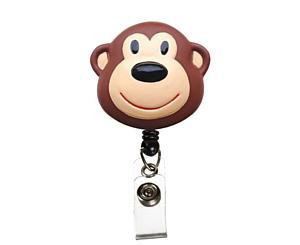 Deluxe Retracteze ID Holder, Monkey, Print < Prestige Medical #S14-MON