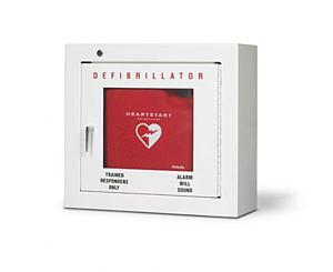 HeartStart Defibrillator Basic Wall Cabinet
