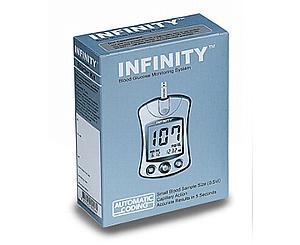 Infinity Blood Glucose Meter Kit, Diabetic Kit
