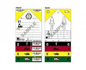 Original Medical Emergency Triage Tag - MET TAG