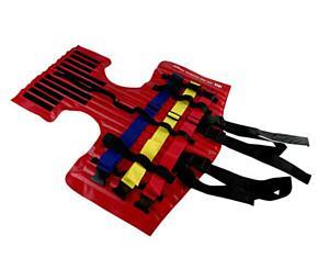 I.D.E.A. Velcro Head Restraint, UP, Red < Iron Duck #35960-VELCRO