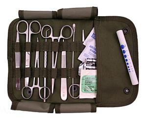 Military Surgical Set, Olive Green
