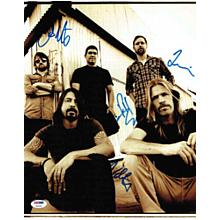 Foo Fighters Signed 11x14 Photo Certified Authentic PSA/DNA