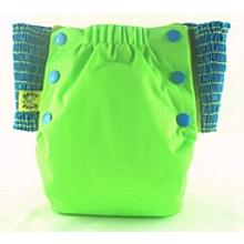 Bright Green Antsy Pants™ in 6-12 months, size fits from around 13lbs to 22lbs