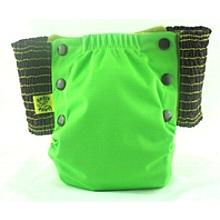 Spring Green Antsy Pants™ in 6-12 months size, fits from around 13lbs to 22lbs