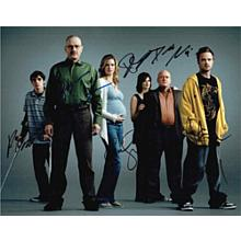 Breaking Bad Cast Signed 11x14 Photo Certified Authentic PSA/DNA