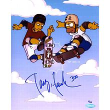 Tony Hawk 'Simpson's' Signed 8x10 Photo Certified Authentic Steiner