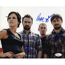 The Cranberries Excellent Signed 8x10 Photo Certified Authentic JSA COA