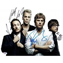 Matchbox 20 Signed 11x14 Photo Certified Authentic PSA/DNA COA