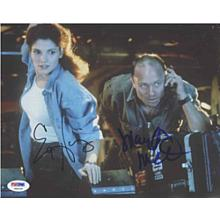 The Abyss Cast Signed 8x10 Photo Certified Authentic PSA/DNA COA