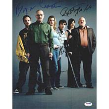 Breaking Bad Cast Signed 11x14 Photo Certified Authentic PSA/DNA COA LOA