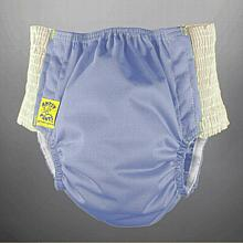 Antsy Pants™ AIO or AI2 size M Periwinkle with White Easy-Stretch Sides (kiddos apx. 30-45lbs)