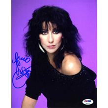 Cher Signed 8x10 Photo Certified Authentic PSA/DNA COA