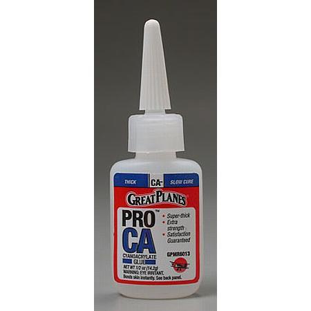 Pro CA- Glue 1/2 oz Thick
