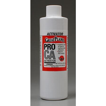 Pro CA Activator 8 oz Refill Foam Safe