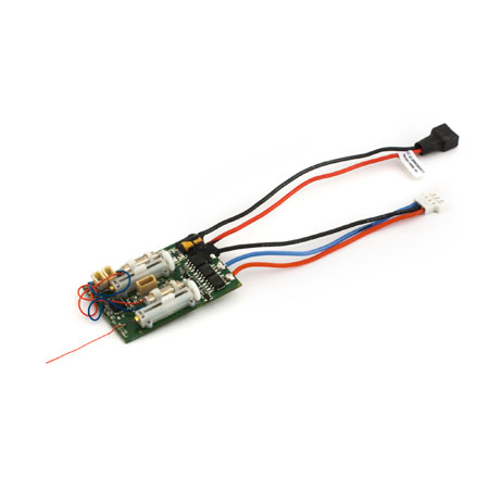 DSM2 6 Ch Ultra Micro AS3X Receiver BL-ESC