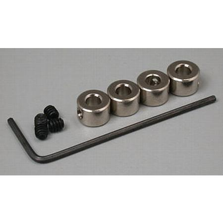 Plated Wheel Collar 1/8  (4)
