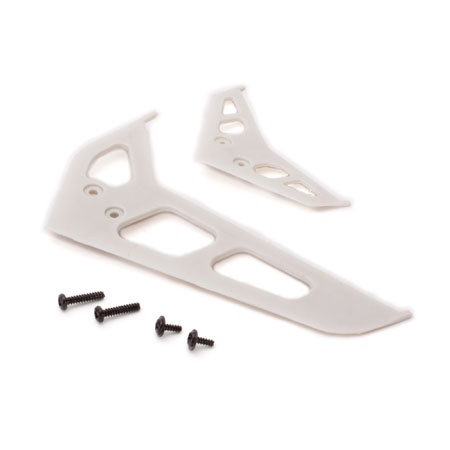 Stabilizer Fin Set, White: 200 SR X