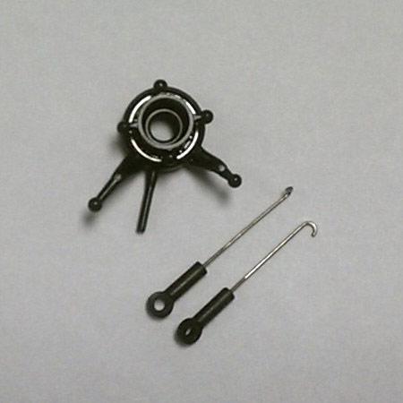 Swashplate with (2 ea.) Pushrods