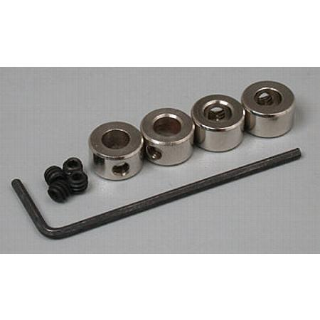 Plated Wheel Collar 3/16  (4)