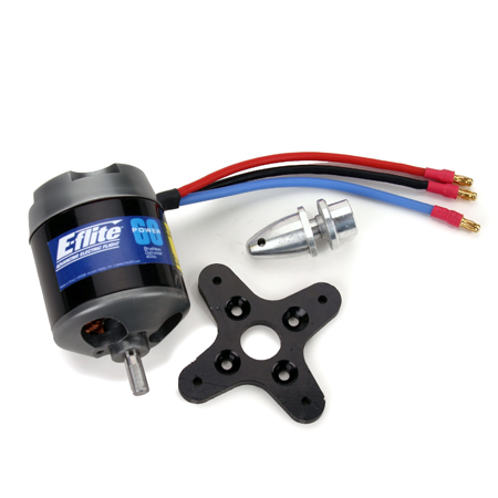 Power 60 Brushless Outrunner Motor, 400Kv