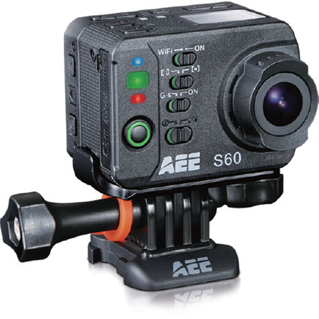 S60, AEE Action 16MP Camera, w/Accessories