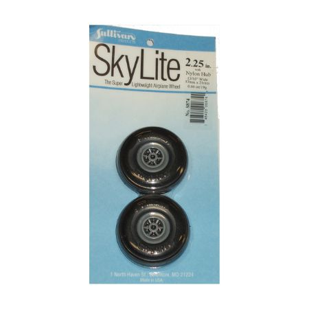 Skylite Wheels w/Treads,2-1/4
