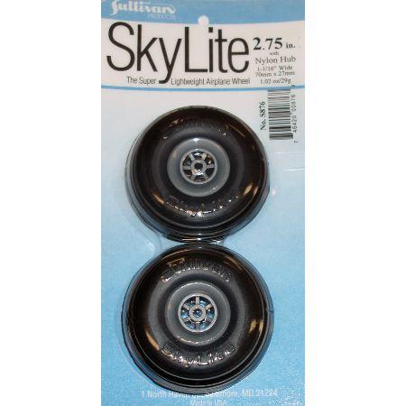 """Skylite Wheels w/Treads,2-3/4"""""""