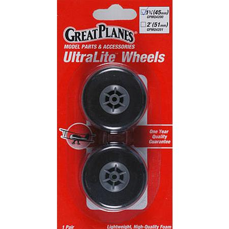"Ultralite Wheels 1-3/4"" (2)"