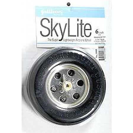 """Sky Airflight Wheel w/Treads 6"""" x 1-3/4"""""""
