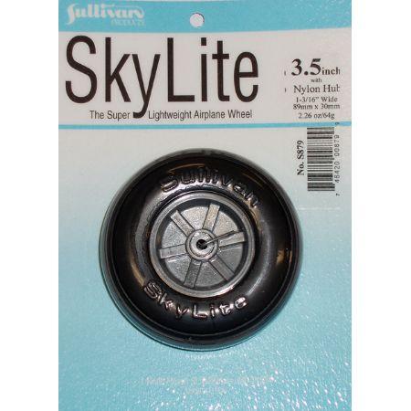 """Skylite Wheel w/Tread,3-1/2"""""""