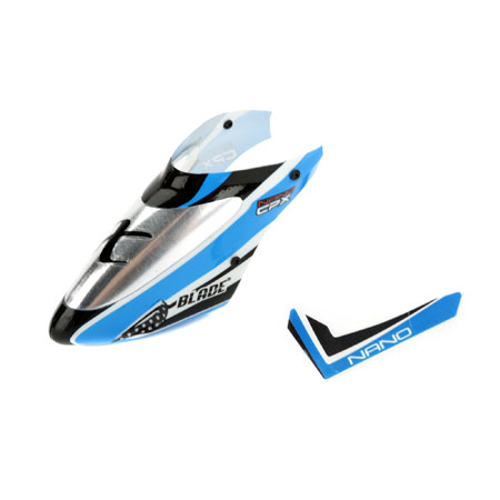 Complete Blue Canopy w/Vertical Fin: nCP X