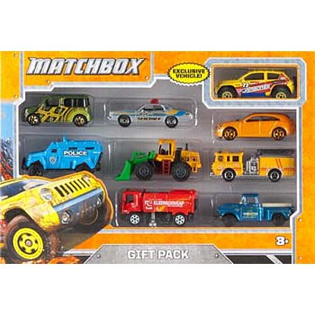 X7111 MB 1/64 9-Vehicle Gift Pack