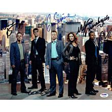 CSI New York Cast Signed 11x14 Photo Certified Authentic PSA/DNA COA