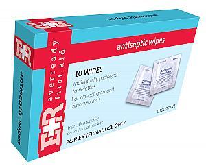 BZK Antiseptic Wipes, Kit Unit Box of 10