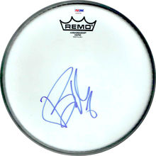Billie Joe Armstrong Green Day Signed Drumhead Certified Authentic PSA/DNA COA